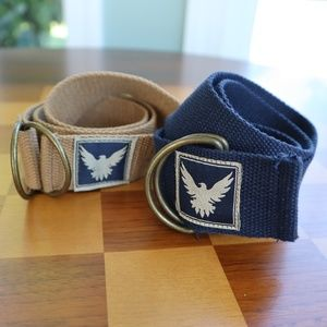 ⭐ 5 for $25 Two Falcon Adjustable Belts Boy Youth